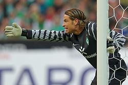 25.09.2010, Weser Stadion, Bremen, GER, 1.FBL, Werder Bremen vs Hamburger SV im Bild Keeper Tim Wiese ( Werder #01)    EXPA Pictures © 2010, PhotoCredit: EXPA/ nph/  Kokenge+++++ ATTENTION - OUT OF GER +++++ / SPORTIDA PHOTO AGENCY