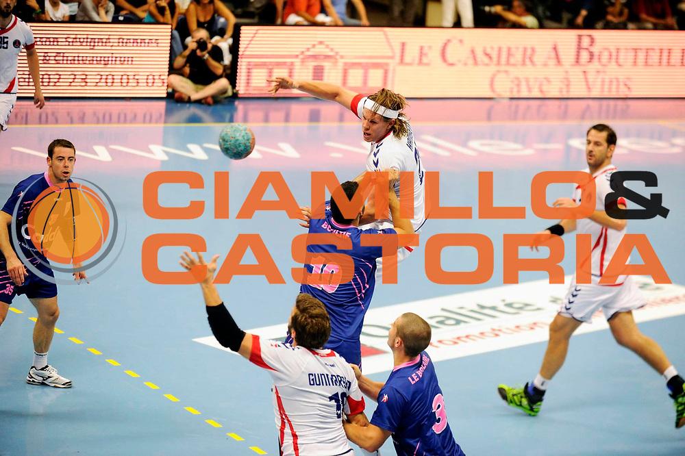 DESCRIZIONE : Handball Tournoi de Cesson Homme<br /> GIOCATORE : HANSEN Mikkel<br /> SQUADRA : Paris<br /> EVENTO : Tournoi de cesson<br /> GARA : Paris Cesson<br /> DATA : 07 09 2012<br /> CATEGORIA : Handball Homme<br /> SPORT : Handball<br /> AUTORE : JF Molliere <br /> Galleria : France Hand 2012-2013 Action<br /> Fotonotizia : Tournoi de Cesson Homme<br /> Predefinita :