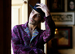 UK ENGLAND LONDON 13JAN05 - Musician Kad Achouri promo shoot for 'Societe' Album, Union Club, Soho, London.<br /> <br /> jre/Photo by Jiri Rezac <br /> <br /> © Jiri Rezac 2005