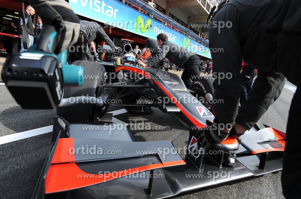 07.05.2010, Circuit de Catalunya, Barcelona, ESP, Formula One Championship, GP of Spain, im Bild Christian Klien (AUT), Test Driver, Hispania Racing F1 Team .EXPA Pictures © 2010, PhotoCredit: EXPA/ InsideFoto/ Hasan Bratic / SPORTIDA PHOTO AGENCY