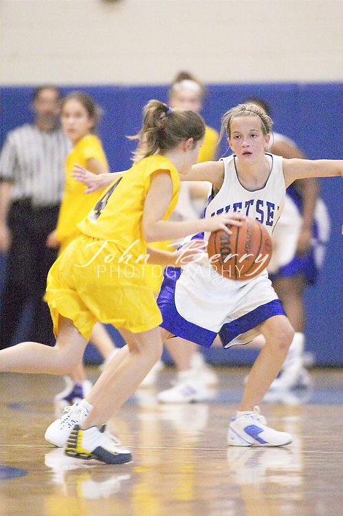 8th Grade Girls Basketball..vs Rappahannock..Second Period..December 9, 2004