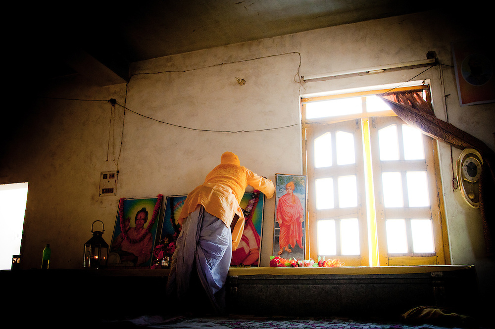 Gayatri Mandir, Benares (Varanasi, India).