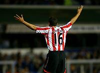 Photo: Steve Bond.<br />Birmingham City v Sunderland. The FA Barclays Premiership. 15/08/2007. Michael Chopra appeals