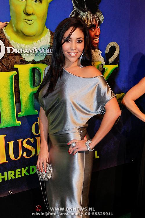 NLD/Amsterdam/20121104 - Premiere Shrek de musical, Hind Laroussi Tahiri