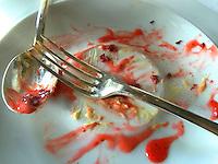 dessert at restaurant Guy Savoy
