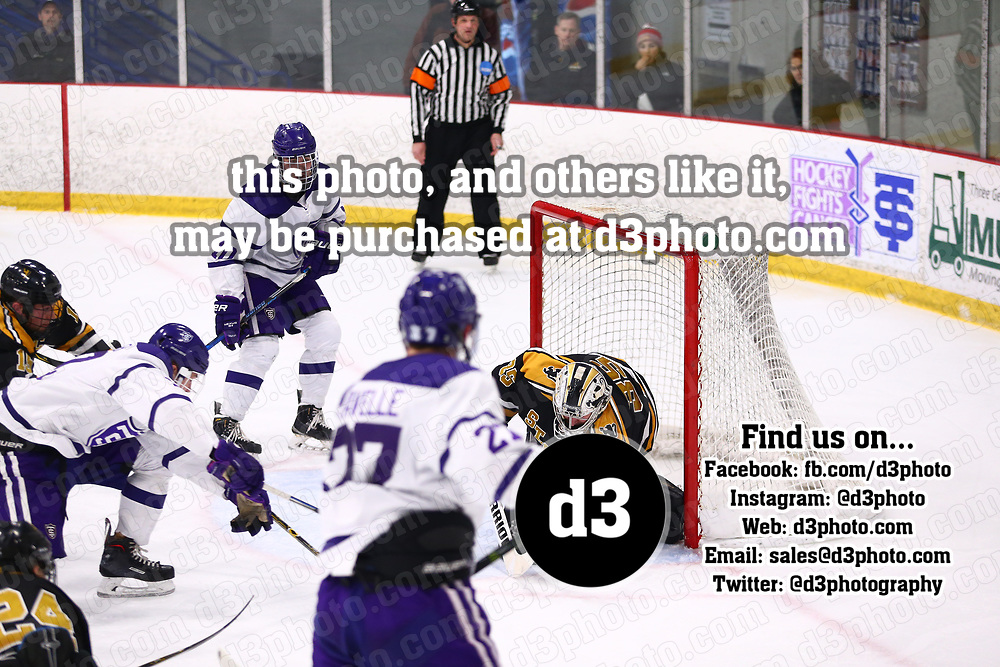 Men's Ice Hockey: University of St. Thomas (Minnesota) Tommies vs. St. Olaf College Oles