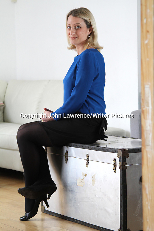 Christie Watson, English writer, at her home in Bromley, Kent.  She is the winner of the 2012 Costa First Novel Award. Taken 17th January 2012<br /> <br /> Picture: John Lawrence/Writer Pictures<br /> <br /> WORLD RIGHTS
