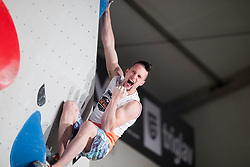 Jernej Kruder (SLO) at Fnal of Climbing event - Triglav the Rock Ljubljana 2018, on May 19, 2018 in Congress Square, Ljubljana, Slovenia. Photo by Urban Urbanc / Sportida