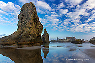 Sea Stacks on Bandon Beach in Bandon, Oregon, USA