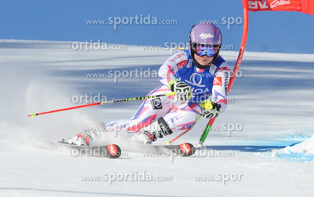 28.12.2015, Hochstein, Lienz, AUT, FIS Weltcup Ski Alpin, Lienz, Riesenslalom, Damen, 1. Durchgang, im Bild Tessa Worley (FRA) // Tessa Worley of France during 1st run of ladies Giant Slalom of the Lienz FIS Ski Alpine World Cup at the Hochstein in Lienz, Austria on 2015/12/28. EXPA Pictures © 2015, PhotoCredit: EXPA/ Erich Spiess
