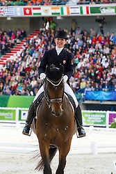 Belinda Trussel, (CAN), Anton - Grand Prix Special Dressage - Alltech FEI World Equestrian Games™ 2014 - Normandy, France.<br /> © Hippo Foto Team - Leanjo de Koster<br /> 25/06/14