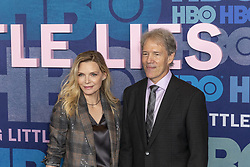 May 29, 2019 - New York, New York, United States - Michelle Pfeiffer and David E. Kelley attend HBO Big Little Lies Season 2 Premiere at Jazz at Lincoln Center  (Credit Image: © Lev Radin/Pacific Press via ZUMA Wire)
