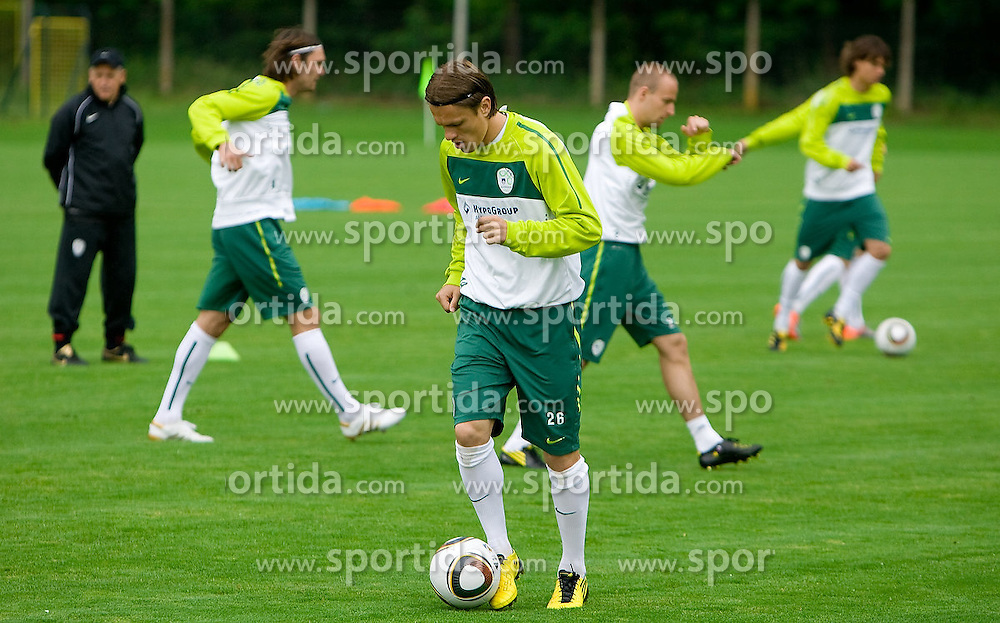 at practice of Slovenian National team on June 03, 2010, at Sports park Kidricevo, in Kidricevo at Ptuj, Slovenia. (Photo by Vid Ponikvar / Sportida)