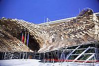 shanghai world expo 2010 - spain pavilion