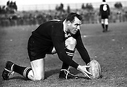 All Black Don Clarke - New Zealand v South Africa, 5 February 1964. Photo: Mark Leech/Offside/Photosport.co.nz