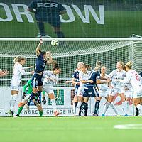 2019-10-13 | Malmö, Sweden: During the game between FC Rosengård and Linköpings FC at Malmö IP ( Photo by: Roger Linde | Swe Press Photo )<br /> <br /> Keywords: Malmö IP, Malmö, Soccer, OBOS Damallsvenskan, FC Rosengård, Linköpings FC, rl191013