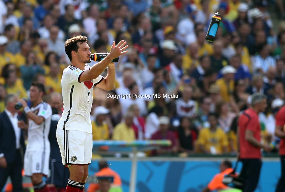 Fifa Soccer World Cup - Brazil 2014 - <br /> FRANCE (FRA) Vs. GERMANY (GER) - Quarter-finals - Estadio do Maracana Rio De Janeiro -- Brazil (BRA) - 04 July 2014 <br /> Here German player Mats HUMMELS<br /> &copy; PikoPress