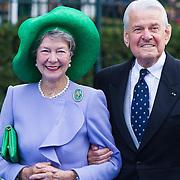 NLD/Apeldoorn/20130105 - Huwelijk prins Jaime en prinses Viktoria Cservenyak, Jaap Rost Onnes en partner