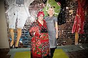 CAMILA BATMANGHELIDJH; GWYNETH PALTROW, Rumble in the Jumble hosted by Gwyneth Paltrow and Camila Batmanghelidjh. To support Kids Company. The Boiler House. 152 Brick Lane. 6 November 2008 *** Local Caption *** -DO NOT ARCHIVE-© Copyright Photograph by Dafydd Jones. 248 Clapham Rd. London SW9 0PZ. Tel 0207 820 0771. www.dafjones.com.