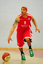Bristol Academy Flyers' Greg Streete - Photo mandatory by-line: Dougie Allward/JMP - Tel: Mobile: 07966 386802 23/03/2013 - SPORT - Basketball - WISE Basketball Arena - SGS College - Bristol -  Bristol Academy Flyers V Essex Leopards