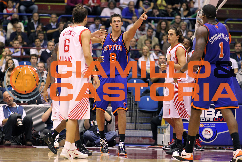 DESCRIZIONE : Milano NBA EUROPE LIVE TOUR 2010 Armani Jeans Milano New York Knicks<br /> GIOCATORE : Danilo Gallinari Amare Stoudemire<br /> SQUADRA : New York Knicks<br /> EVENTO : NBA EUROPE LIVE TOUR 2010<br /> GARA : NBA EUROPE LIVE TOUR 2010 Armani Jeans Milano New York Knicks<br /> DATA : 03/10/2010<br /> CATEGORIA : Ritratto Esultanza<br /> SPORT : Pallacanestro<br /> AUTORE : Agenzia Ciamillo-Castoria/G.Cottini<br /> Galleria : NBA EUROPE LIVE TOUR 2010<br /> Fotonotizia : Milano NBA EUROPE LIVE TOUR 2010 Armani Jeans Milano New York Knicks<br /> Predefinita :