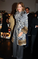 TRINNY WOODALL at a jewellery party hosted by Osanna Visconti and Pia Marocco at Allegra Hick's shop, 28 Cadogan Place, London on 25th November 2004.<br /><br />NON EXCLUSIVE - WORLD RIGHTS