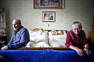 In Chlaba, Slovakia during the 2010 summer, the photographer shares final moments with her ailing grandaunt. (photo by Gabriela Bulisova)