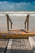 Redington Beach, Florida, USA., Saturday, 19.10.19  Stormy Sea<br /> <br /> [Mandatory Credit; Pete SPURRIER] , Coastline,