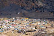 The historic mining town of Silverton, Colorado.