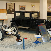 1923-27 Tatra T 11 Chassis and Car with 1927-31 Tatra T 30, Technical Museum Tatra Czech Republic, 2009