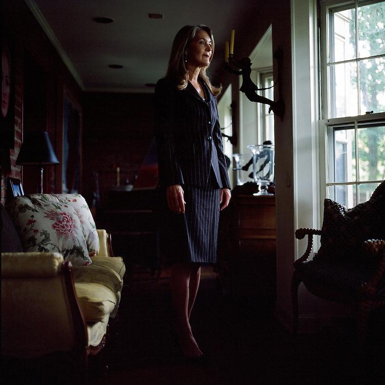 WASHINGTON DC - 2009: Sydney Ferguson president of Lockhart Strategies International in her home.