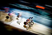 London Six Day racing. Oct 27. 2016