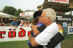 Ledermann Alexandra (FRA) <br /> Nations Cup Hickstead 1999<br /> Photo © Dirk Caremans