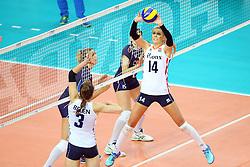 18-06-2016 ITA: World Grand Prix Italie - Nederland, Bari<br /> Nederland wint opnieuw van Italie, het ging moeizaam maar de 3-1 winst was genoeg / Laura Dijkema #14<br /> <br /> ***NETHERLANDS ONLY***