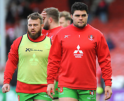 Cameron Orr of Gloucester Rugby warms up-Mandatory by-line: Nizaam Jones/JMP- 16/12/2017 - RUGBY - Kingsholm - Gloucester, England - Gloucester Rugby v Zebre Rugby Club- European Rugby Challenge Cup