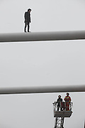 LIUZHOU, CHINA - JANUARY 09: (CHINA OUT) <br /> <br /> A Boy Jumps From High Bridge To Escape Love-related Issues <br /> <br /> A boy is going to jump from top of Wenhui Bridge to die to escape his love-related issues on January 9, 2015 in Liuzhou, Guangxi province of China. A boy who was born in 1992 planted to end his life after encountering love-related issues but finally was saved by local fire workers. <br /> ©Exclusivepix Media