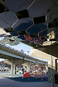 Underpass Park in Toronto, Ontario, Canada.
