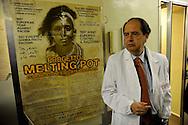 Roma  9 Febbraio 2009.Il Prof. Aldo Morrone  direttore generale  dell'ospedale San Gallicano dove si curano per la maggior parte immigrati e senza fissa dimora