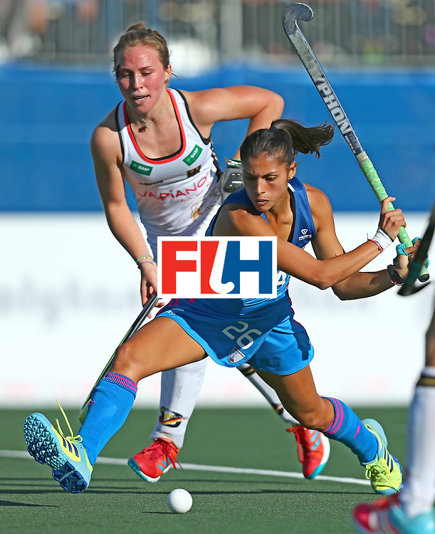 New Zealand, Auckland - 21/11/17  <br /> Sentinel Homes Women&rsquo;s Hockey World League Final<br /> Harbour Hockey Stadium<br /> Copyrigth: Worldsportpics, Rodrigo Jaramillo<br /> Match ID: 10301 - GER vs ARG<br /> Photo: