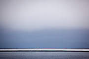 The small, flat sland of Moffen, off the north coast of Spitsbergen, in the Arctic archipelago of Svalbard, is home to a walrus haul out. The island is in the Nordvest-Spitsbergen National Park.