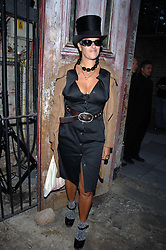 TRACEY EMIN at the Stephen Webster launch party of his latest jewellery collection during the London Jewellery Week, at Wilton's Music Hall, Graces Alley, Off Ensign Street, London E1 on 12th June 2008.<br />