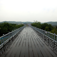 PANMUNJOM, MAY-16: the freedom bridge.