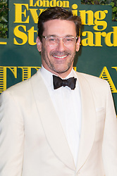© Licensed to London News Pictures. 03/12/2017. London, UK. JOHN HAIM attends the London Evening Standard Theatre Awards 2017 held at the Theatre Royal, Dury Lane. Photo credit: Ray Tang/LNP
