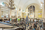 The Bennetts travel to Ukraine over the New Year holiday to visit Megan.  Kiev Pas, the main passenger rail station in Kiev.