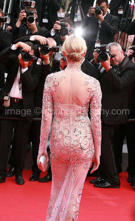 Inna Zobova at The Search gala screening red carpet at the 67th Cannes Film Festival France. Tuesday 20th May 2014 in Cannes Film Festival, France.