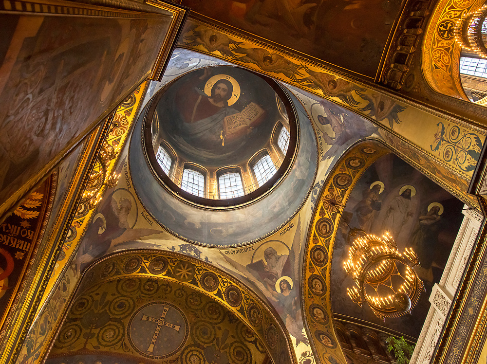 Ukraine, Kyiv, Saint Volodymyr's Cathedral, Mother Cathedral Of The Ukrainian Orthodox Church, Interior