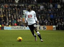 Abdoul Camara of Derby County - Mandatory byline: Robbie Stephenson/JMP - 16/01/2016 - FOOTBALL - iPro Stadium - Derby, England - Derby County v Birmingham City - Sky Bet Championship