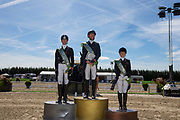 Prijsuitreiking Silver Cup<br /> Flanders Dressage Event 2018<br /> © DigiShots