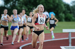 Sophie Connor of Shaftesbury Barnet Harriers in the 800m B, UK Women's Athletics League - Premier Division Match 3, Norman Park Bromley, UK on 03 August 2013. Photo: Simon Parker