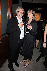 Art collector FRANK COHEN and his wife CHERRYL at the annual Sotheby's Summer Party held at their auction rooms 34-35 New Bond Street, London W1 on 19th June 2008.<br /><br />NON EXCLUSIVE - WORLD RIGHTS